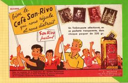 BUVARD & Blotting Paper : Vive Le Café SAN RIVO - Koffie En Thee