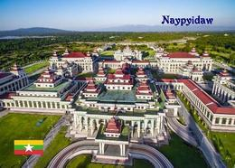 Myanmar Naypyidaw Parliament Overview Burma New Postcard - Myanmar (Burma)