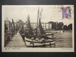 14 - Honfleur - CPA   - Vue Sur Le Port - CAP N° 133  - TBE - 1935 - Honfleur