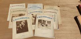 10 NUMEROS DE L'ILLUSTRATION 1910'S ET 1930'S - Zeitungen