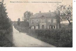 14 - BLANGY LE CHATEAU - Gendarmerie Et Route Des Authiens Sur Calonne - Autres Communes