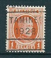 4143 Voorafstempeling Op Nr 190 - TAMINES 1928 - Positie C - Préoblitérés