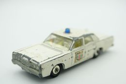 Matchbox Lesney 55D2 MERCURY POLICE CAR - Regular Wheels, Issued 1968 - Matchbox