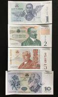 GEORGIA SET 1 2 5 10 LARI BANKNOTES 1995 UNC - Georgien