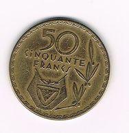 )  RWANDA  50 FRANCS 1977 - Rwanda