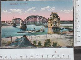 Düsseldorf Rheinbrücke Gelaufen 1918 Feldpostkarte ( AK 1057 )  Günstige Versandkosten - Duesseldorf