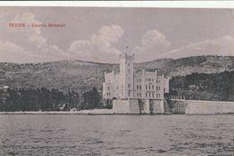 Cartolina - Postcard / Non Viaggiata -  Unsent /  Trieste, Castello Miramare - Trieste