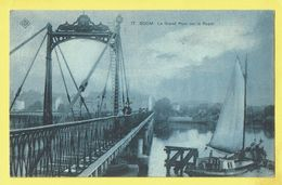 * Boom (Antwerpen - Anvers) * (SBP, Nr 17) Le Grand Pont Sur Le Rupel, Bridge, Brug, Canal, Quai, Bateau, Boat, TOP - Boom