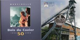 """BE23 BELGIQUE 10 EURO 2006 """"Bois Du Cazier""""  *QP* Quality Proof  - ARGENT - SILBER - SILVER - Belgium"""