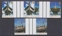 Falkland Islands 2006 Restoration Ss Great Britain 3v Gutter ** Mnh (48483) - Falkland Islands