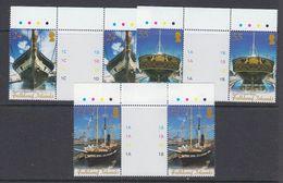 Falkland Islands 2006 Restoration Ss Great Britain 3v Gutter ** Mnh (48483A) - Falkland Islands