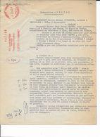 Procuration 1959 Au Nom De Michel PRIVEZ à NEUILLY/SEINE, Vente Villa KER ATINE à PREFAILLES Fiscal Mécanique 240 Frs - Revenue Stamps