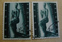 TimSpé. 9. N°1024 Deux Teintes En Fond, Blanc Et Vert - Errors And Oddities