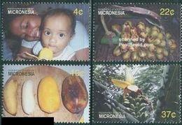 Micronesia 2005, Fruits - Bananas, MNH Stamps Set - Micronesia