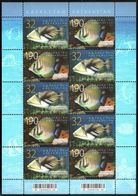 1061 - Kazakhstan - 2010 - Oceanarium Of Astana - Sheetlet Of 10v - MNH - Lemberg-Zp - Kazakhstan