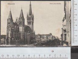 Allenstein Herz Jesu Kirche Gelaufen Stempel 30.9.1916 Heute Olsztyn Polen ( AK 1058 )  Günstige Versandkosten - Ostpreussen
