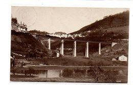 Suisse - Saint  Ursanne - Le Viaduc - Train - CPA ° - Suisse
