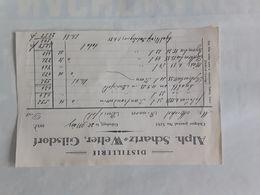 DISTILLERIE ALPH.SCHARTZ WELTER GILSDORF 1938 - Luxembourg