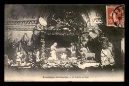 75 - PARIS 15EME - PENSIONNAT ST-CHARLES RUE BLOMET - LA CRECHE DE NOEL - Arrondissement: 15