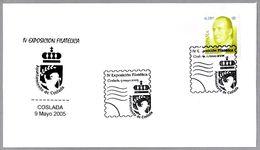 Matasellos IV EXPOSICION FILATELICA. Coslada, Madrid, 2005 - 2001-10 Lettres