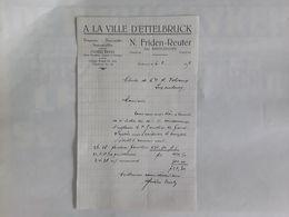 A LA VILLE D' ETTELBRUCK 1939 - Luxembourg