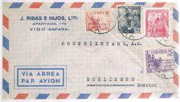 España, 1952, Vigo-Schlieren - 1931-Oggi: 2. Rep. - ... Juan Carlos I