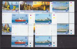 Falkland Islands 2007 Fisheries 6v Gutter ** Mnh (48485) - Falkland Islands