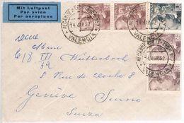 España, 1952, Valencia-Geneve - 1931-Oggi: 2. Rep. - ... Juan Carlos I