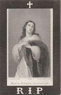 Joannes Bapt. Jacobs °Vosselaar 6-1-1824 Overleden Vosselaer 16 Maart 1883 Hoofdman Gilde St Sebastiaan - Andachtsbilder