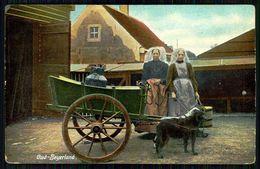 PAYS-BAS - OUD-BEYERLAND - Attelage De Chiens - (Ed.Dr. Trenkler Co. 1906 Kid.35)carte Postale - Artisanat