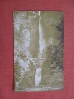 RPPC Multnomah Falls   Oregon    Ref 4204 - Etats-Unis