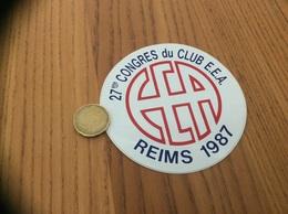AUTOCOLLANT, Sticker «27eme CONGRÈS DU CLUB EEA - 1987 - REIMS (51)» (grande école, Université) - Adesivi