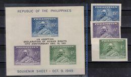 LIBYE   Timbres Neufs  ** De 1963  ( Ref 1755 B  ) U.P.U Surchargés Droits De L'homme - Philippines