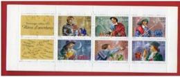 Timbres - Personnages Célèbres 1997 - Héros D'aventures- Faciale 18.00 Fr - Valeur 2.74 Euro - Bloc N° 3121 - People