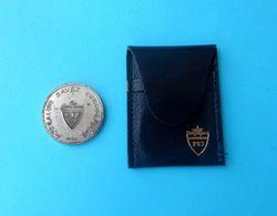 YUGOSLAVIA FOOTBALL FEDERATION Official Old Medal Coin In Original Etui * Football Soccer Fussball Calcio Jugoslavija - Apparel, Souvenirs & Other