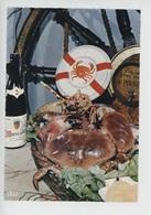 Les Délices De La Mer, Tourteau, Cognac Prince Hubert De Polignac, Muscadet Clos De Beaulieu (cp Vierge) - Ricette Di Cucina