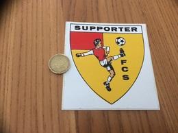AUTOCOLLANT, Sticker * «SUPPORTER FCS (Football Club - Sangatte (62)» - Aufkleber