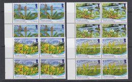South Georgia & South Sandwich Islands 2010 Flora 4v Bl Of 4 ** Mnh (48489A) - Géorgie Du Sud