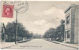 HAMMOND, IN -  Rimback Ave. - Hammond
