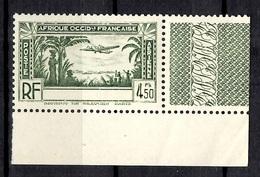 Timbre Poste Aérienne AOF De 1940 Sans Légende Neuf ** MNH. B/TB. A Saisir! - Non Classés