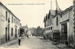 Beautour * Vertou * La Grande Rue , Route De Vertou * Tabac * Charpentier MAHE * Usine TERTRAIS - France