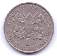 KENYA 1989: 1 Shilling, KM 20 - Kenya