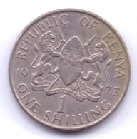 KENYA 1973: 1 Shilling, KM 14 - Kenya