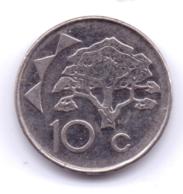 NAMIBIA 2012: 10 Cents, KM 2 - Namibië