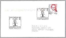 Centenario De La Muerte Del Compositor FILIPPO MARCHETTI. Camerino, Macerata, 2002 - Musica