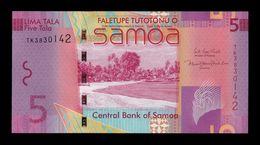 Samoa 5 Tala 2017 Pick 38c SC UNC - Samoa