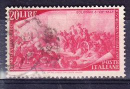 ITALIE YT  526  OBL (CANCEL.). (7C212) - 1946-.. République