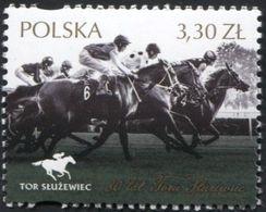 POLAND 2019 Sluzewiec Horse Racing Track, Sport, Architecture, Animals, Horseriders MNH** - Ippica