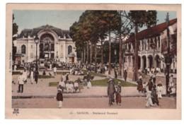 VIETNAM - SAIGON - Boulevard Bonnard   (carte Animée) - Vietnam