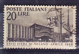 ITALIE YT  536  OBL (CANCEL.). (7C214) - 1946-.. République